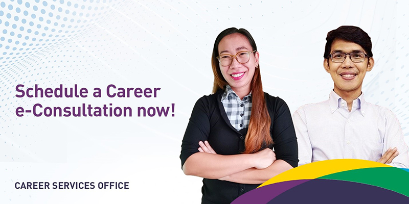Career Services Office Offers Career e-Consultation Sessions with Certified Career Advisors™